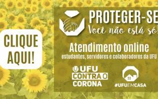 Proexc divulga PROJETO PROTEGER-SE, com serviço on-line de atendimento terapêutico