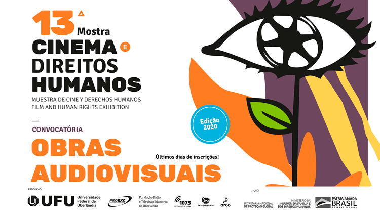 As inscrições para a 13ª Mostra Cinema e Direitos Humanos estão abertas