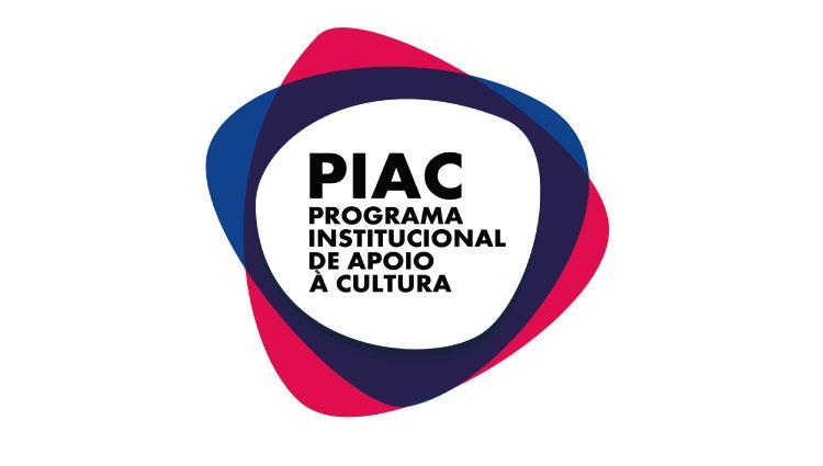Imagem da logo do Programa Institucional de Apoio à Cultura centralizada ao meio